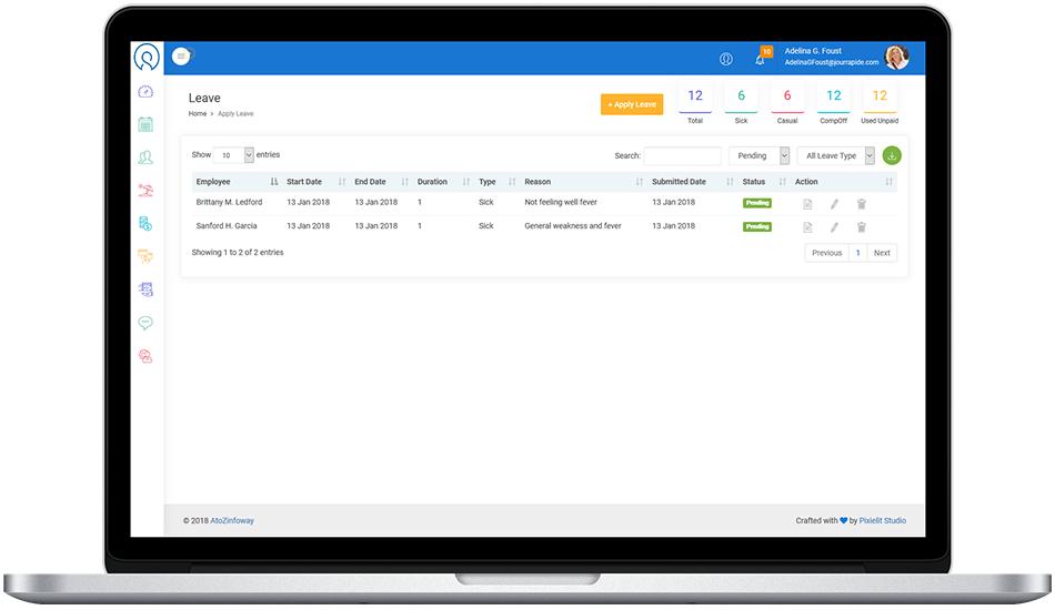 Leave Management Software in Suart, Web-Based Absence Management